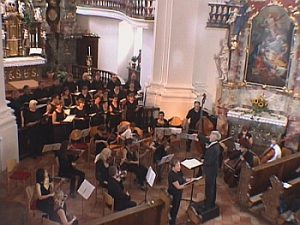 Beim Konzert in Steinhausen, Sommer 2006
